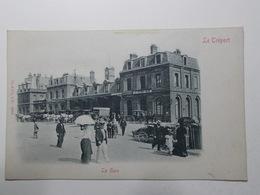 Carte Postale  - LE TREPORT (76) - La Gare - (2650) - Le Treport