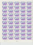 Faciale 17.50 Eur ; Feuille De 50 Tbs à 2.30 Fr N° 2634 (cote 55 Euros) - Ganze Bögen