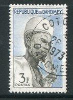 DAHOMEY- Y&T N°180- Oblitéré - Bénin – Dahomey (1960-...)