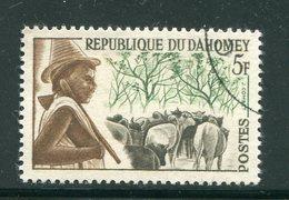 DAHOMEY- Y&T N°181- Oblitéré - Bénin – Dahomey (1960-...)