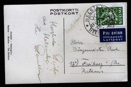 A6083) Olympia 1952 Helsinki Karte 29.07.52 N. Freiburg / Germany - Sommer 1952: Helsinki