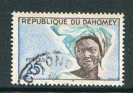 DAHOMEY- Y&T N°184- Oblitéré - Bénin – Dahomey (1960-...)