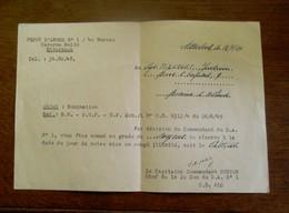 Depot D' Armee Caserne ROLIN  Etterbeek - Documents
