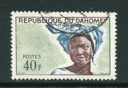 DAHOMEY- Y&T N°186- Oblitéré - Bénin – Dahomey (1960-...)