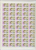 Faciale 17.50 Eur ; Feuille De 50 Tbs à 2.30 Fr N° 2638 (cote 55 Euros) - Feuilles Complètes