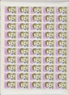 Faciale 17.50 Eur ; Feuille De 50 Tbs à 2.30 Fr N° 2638 (cote 55 Euros) - Ganze Bögen