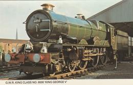 1960s To 1980s BRITISH RAILWAY /  G.W.R KING CLASS , NO 6000 KING GEORGE V - Eisenbahnen