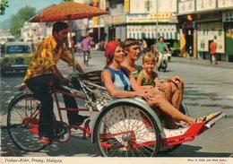 - Trishaw-Rider, PENANG, MALAYSIA. - - Malaysia
