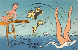 """HUMOUR // PIN-UPS // """" SOME QUAINT DIVES HERE ! """" - Humour"""