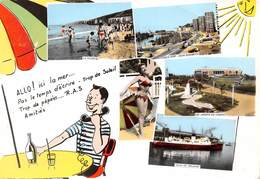 62 - Boulogne-sur-Mer - Carte Multi-Vues - Allo! Ici La Mer - 5 Beaux Plans - Boulogne Sur Mer