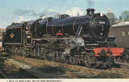 1960s To 1980s BRITISH RAILWAY /  L.M.S CLASS 5 , NO 45110 RAF BIGGIN HILL - Eisenbahnen