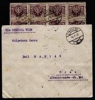 A6084) Polen Poland Infla Brief Zyrardoz 14.11.23 N. Graz / Austria M. 40 Marken (MeF) - 1919-1939 Republik