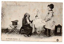 LA POUPEE MALADE N° 3 * ENFANT * BERCEAU - Scènes & Paysages
