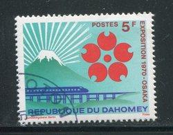 DAHOMEY- Y&T N°290- Oblitéré - Bénin – Dahomey (1960-...)