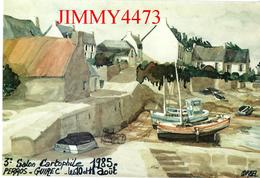 CPM - PERROS GUIREC 22 Côtes Du Nord - 3è SALON CARTOPHILE Août 1985 - Carte Numérotée 0613 - Imp. Pierron - Bourses & Salons De Collections