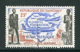 DAHOMEY- P.A Y&T N°21- Oblitéré - Bénin – Dahomey (1960-...)