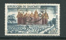 DAHOMEY- P.A Y&T N°18- Oblitéré - Bénin – Dahomey (1960-...)