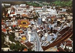 Baden Zentrum Flugaufnahme Mit Brown, Boveri & Cie AG - AG Argovie
