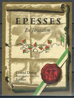 Etiquette De Vin Du Canton De Vaud  * Epesses - En Jérusalem  * - Etiquettes