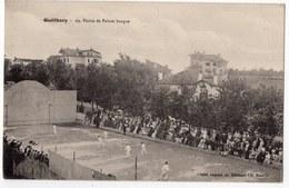64  GUETHARY  PARTIE DE PELOTE BASQUE - Guethary