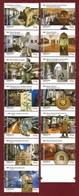 Portugal  2019 Mi.Nr. 4486 / 98 , Museus Centenarios De Portugal - Compl. Satz - Postfrisch / MNH / (**) - Ungebraucht