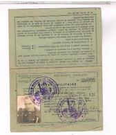 BREVET MILITAIRE SOLDAT DU GERS 1940   LOTE56 - Documents Historiques