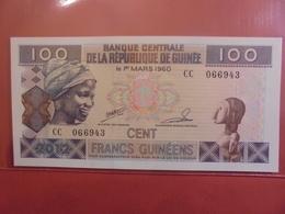 GUINEE 100 FRANCS 1985 PEU CIRCULER/NEUF - Guinea