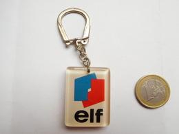 Porte Clés , Carburant Essence Oil Huile ELF , Bourbon - Schlüsselanhänger