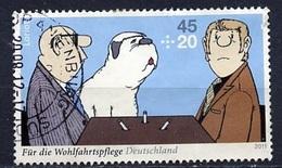 Allemagne Fédérale - Germany - Deutschland 2011 Y&T N°2661 - Michel N°2836 (o) - 45c+20c Dessin De Loriot - [7] Federal Republic