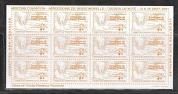 MEETING D'AVIATION - AERODROME DE BASSE MOSELLE - VIGNETTE DE TRANSPORT DE PLI PAR AVION - NEUVE - Aviation