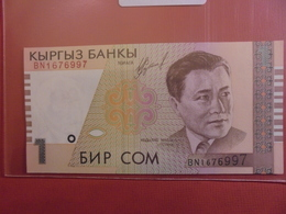 KIRGHIZISTAN 1 SOM 1994 PEU CIRCULER/NEUF - Kirghizistan