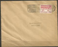 1950 - COB N° 829 Oblitéré (o) Seul Sur 2 Lettres ATTENTION POUR ENVOI: FORMAT>NORMAL - Belgium