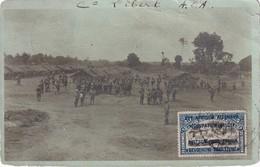 RUANDA URUNDI  OCCUPATION BELGE 1918 CARTE POSTALE PHOTO - Ruanda-Urundi