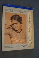 RARE Ancien Calendrier Afrique,Congo Belge,etc...1943, Complet 19 Cm./14 Cm. - Calendriers
