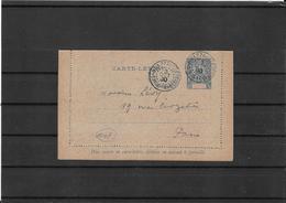 Congo Francais 1900 , Postal Stat. To Paris (Ref 1037) - French Congo (1891-1960)
