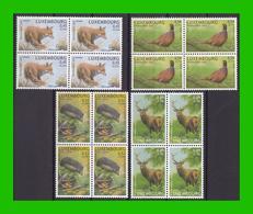 """BUZIN - Luxembourg - Y&T 1542/1545 - Série """"Bienfaisance 2002"""" - Unused Stamps"""