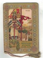 CALENDARIETTO   SATININE 1916  RODI - Calendari