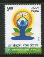 India 2015 International Day Of Yoga Health MNH - Health