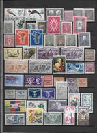 Thème Oiseaux - Tous Pays -  Timbres Neufs **/* - 8 Scans - Collections, Lots & Séries