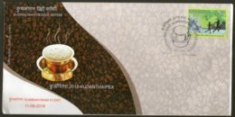 India 2018 Kumbakonam Degree Coffee Beans Cup Food Special Cover # 6865 - Food