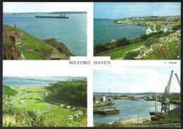 PC  Judges- Milford Haven, Multivues. Unused - Pembrokeshire