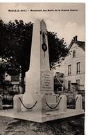 MAULE Monument Aux Morts De La Grande Guerre - Maule