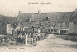 AM 977  / C P A     - CAMETOURS    (50)  LE BUREAU DE POSTE - Autres Communes