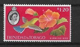 TRINIDADE & TOBAGO 1960 Birds, Hummingbird - Colibríes