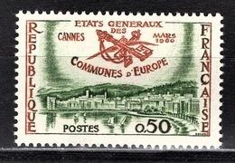 FRANCE 1960 -  Y.T. N° 1244 - NEUF** - Nuevos