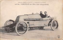 SPORT. N°54369.Circuit De Lyon.Grand Prix De L'ACF. 205 Bis Tabuteau Sur Alda.etat - Autres