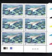 France 2019.Coin Daté.50e Anniversaire Du Premier Vol Du Concorde.** - Airmail