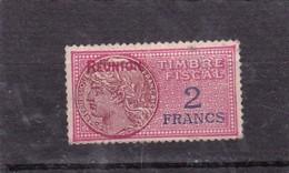 Timbre Fiscal Série Unifiée La Réunion - Réunion (1852-1975)