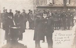 Romilly Sur Seine (Aube 10) Remise De La Médaille Militaire Au Général Joffre Par Raymond Poincaré (3 Rares Cartes) - Romilly-sur-Seine