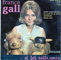 Disque De France Galle - Sacré Charlemagne - PHILIPS 437.962 BE 1964 - Vinyles
